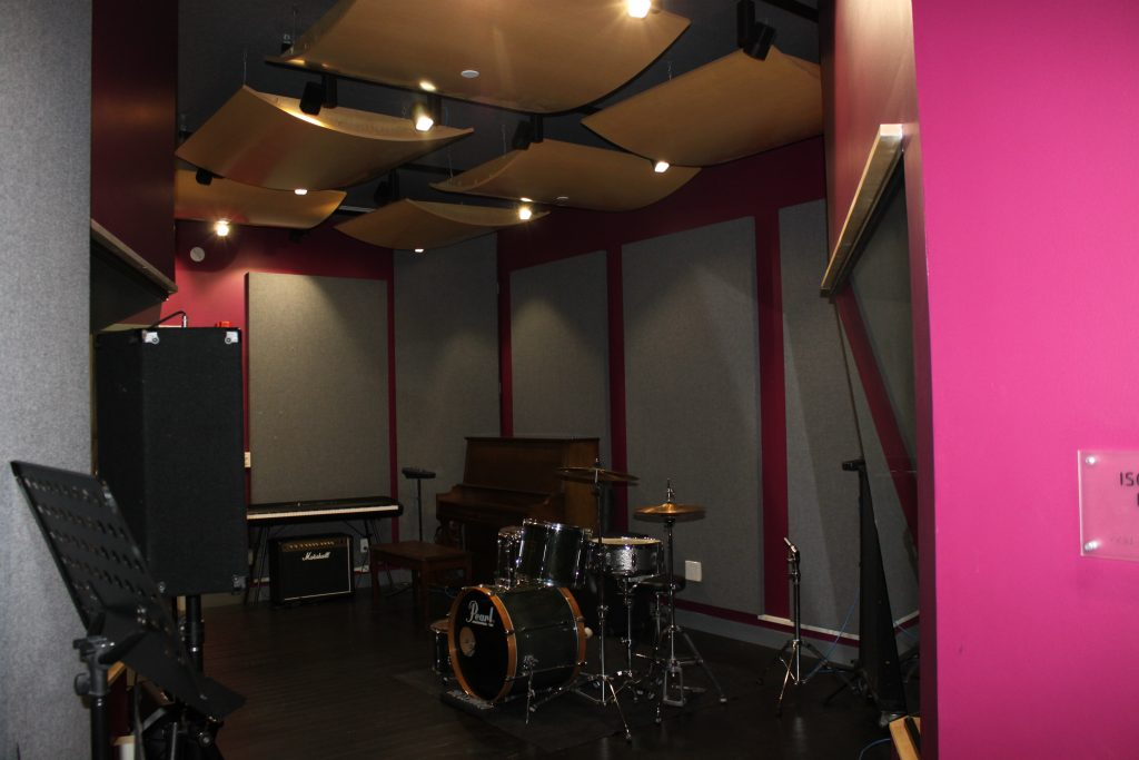 picture of a renovated sound room
