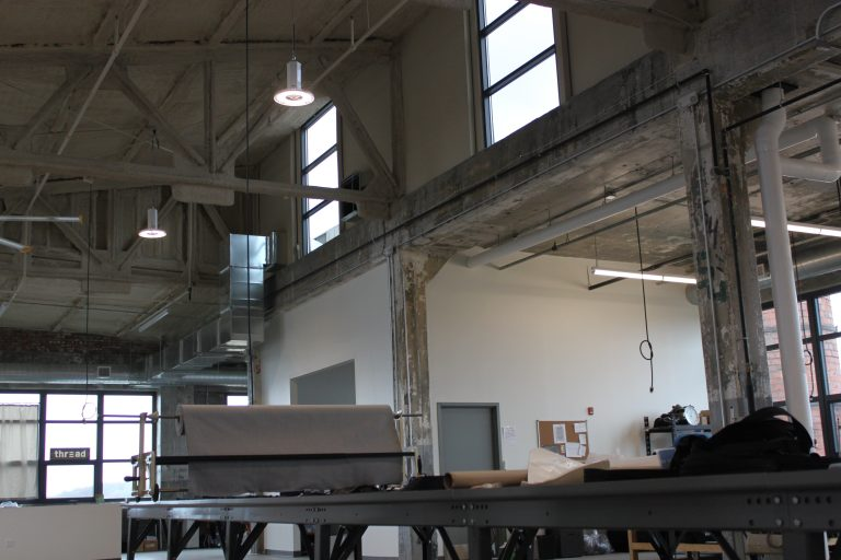 industrial construction space for thread international