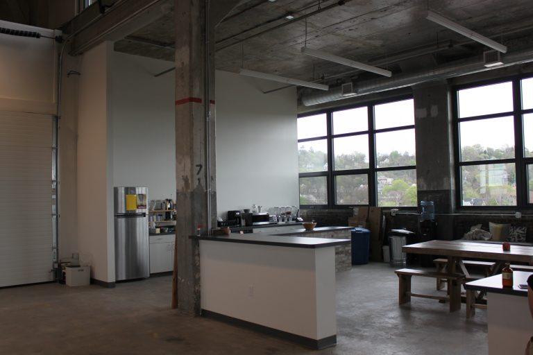 industrial building office area