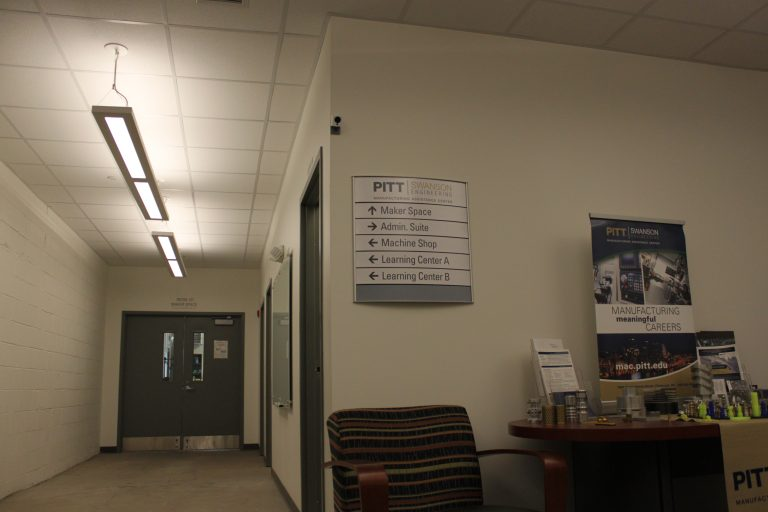 Manufacturing Assistance Center building interior